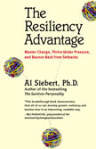 The Resiliency Advantage by Al Siebert cover