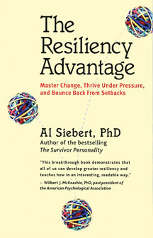 The Resiliency Advantage cover (Indian subcontinent edition)