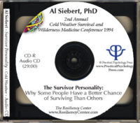 Cold Weather Survival Talk Audio CD
