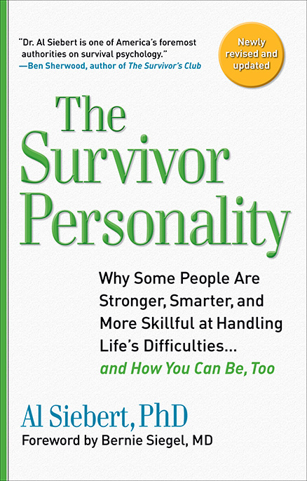 The Survivor Personality - 2010 - Cover