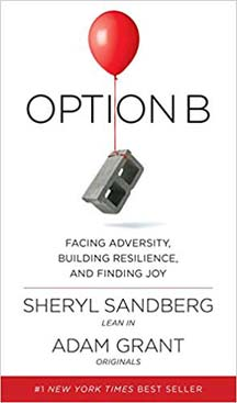 Option B: Facing Adversity, Building Resilience and Finding Joy - by Sheryl Sandburg