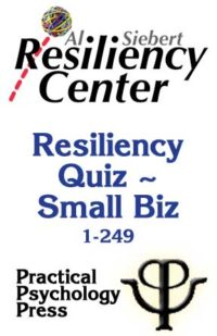 Resiliency Quiz - Small Business (1-249)
